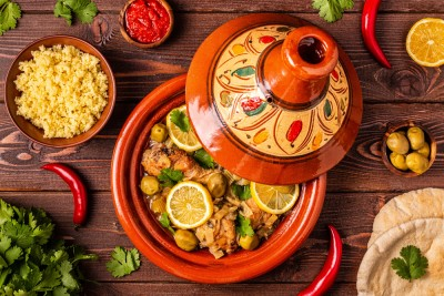 tajine background